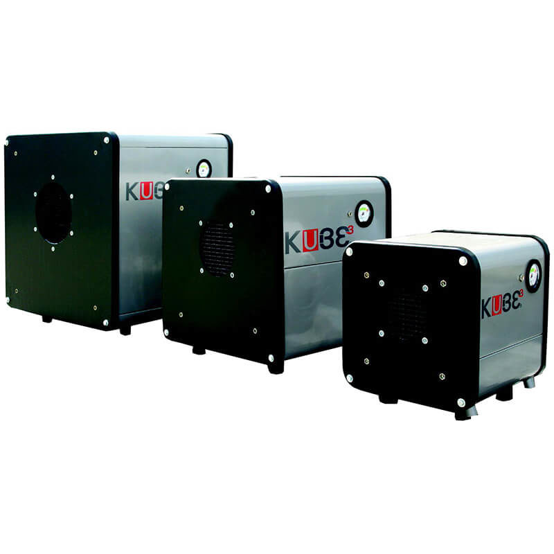 Micronfilter Filtration air filter KUBE 2