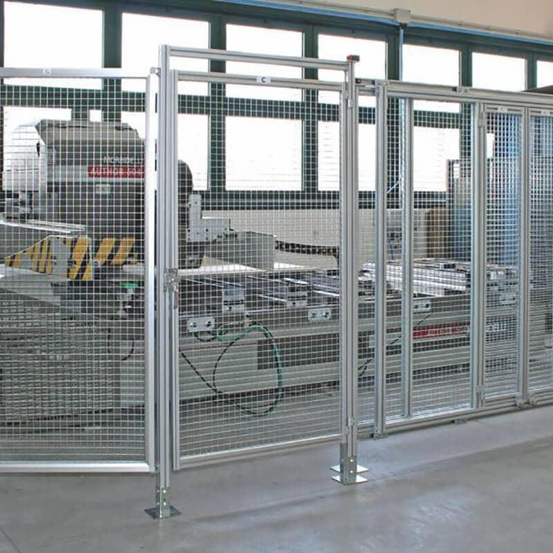 cage sur mesure en extrusion
