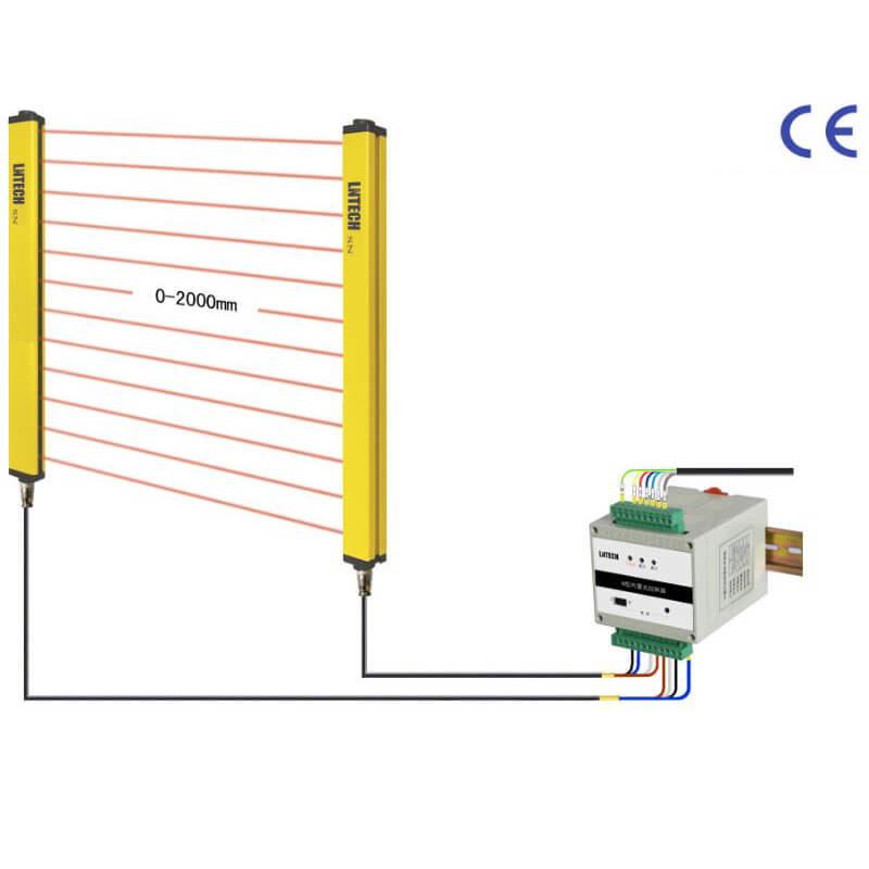 rideaux laser 8